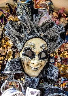 The venetian masquerade. by Florence on Etsy