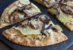 Wild Mushroom & Potato Pizza   Oh My Veggies - DailyBuzz Food