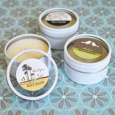 Elite Design Personalized Round Candle Tins favors for your wedding, bridal shower, party, baby shower and other events. Wedding Reception Favors, Inexpensive Wedding Favors, Candle Wedding Favors, Candle Favors, Personalized Candles, Custom Candles, Personalized Wedding Favors, Personalized Labels, Round Candles