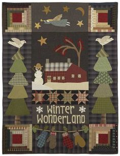Winter Wonderland - Primitive Quilts