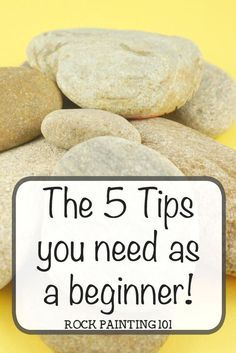 Learn how to paint rocks with the answers to the top 5 most asked questions by rock painting beginners. From where I buy rocks to what I use to finish them. #howtopaintrocks #rockpainting101 #wheretobuyrocks #howtosealrocks #kindnessrocks #basecoatrocks #whatkindofpaintforrockpainting #rockpaintingforbeginners #stonepainting #rockpainting101