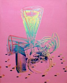 Andy Warhol created this work to fund 2000 Champagne bottles for his planed Millennium celebrations with Beuys