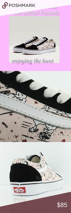 Vans Off The Wall Old School Peanuts Lo Top Shoes Vans Off The Wall ~ Old School ~  Lo Top Shoes ~ Peanuts ~ All Your Favorite Peanuts Characters ~ New In Damaged Box Vans Shoes Sneakers
