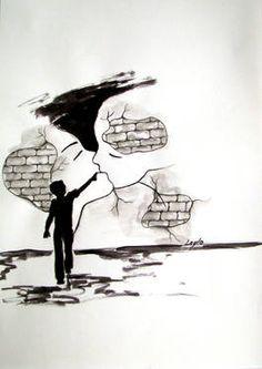 #kiss #love #art #drawing #sketch #ink #artoftheday #saatchi