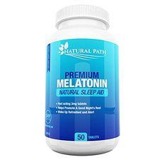 Melatonin 3mg Tablets - Best Sleep Aid For Adults - Deep Sleep Supplement - Sleeping Pills That Work Fast - 100% Pure
