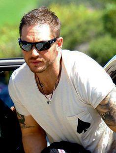 Tom Hardy - Bondi Beach, Sydney, Australia 11.26.13 - Back to film extra scenes for Mad Max - Arms though....