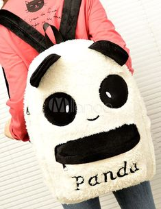 Mochila de oso panda Someone tell me where I can get this please! Panda Love, Cute Panda, Small Backpack, Backpack Bags, Panda Decorations, Baby Panda Bears, Cute School Supplies, Most Beautiful Animals, Teenage Girl Outfits