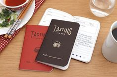 For the foodie in your life. #foodie #notebook #edc : @jetpens