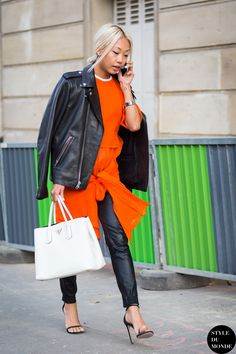 Vanessa Hong The Haute Pursuit Street Style Street Fashion Streetsnaps by STYLEDUMONDE Street Style Fashion Blog