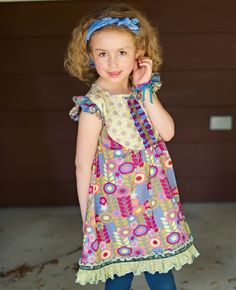 Heart-Soul-Pride, Fall 2012: Chasing Daisy Dress Matilda Jane Girls Clothing