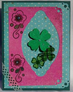 Shamrocks for St. Patrick's Day - Scrapbook.com