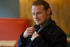 "Sam Heughan said it is an ""exciting time"" for Scotland. Picture: John Devlin"