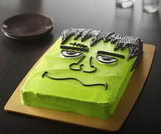 Pastel de Frankenstein