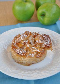 Croustaude aux Pommes - Flaky Apple Tart from Gascony
