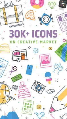 Search through more than 30,000 downloadable icons for social, ecommerce and more on Creative Market.