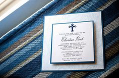First Holy Communion Invitation Baptism or by MilanoInk on Etsy