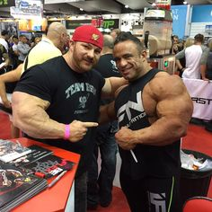 Flex Lewis and Jose Raymond