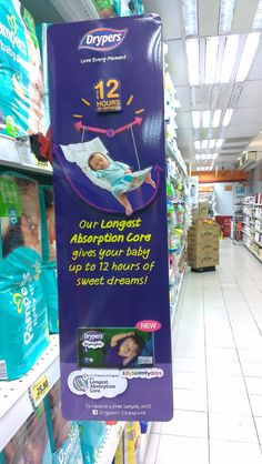 Drypers Love Every Moment Shelf Banner