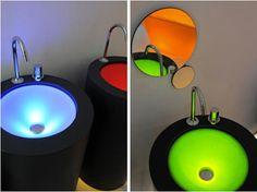 Light-Up Sinks