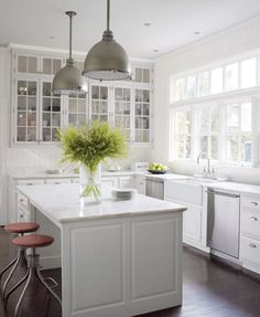 New England-style kitchen
