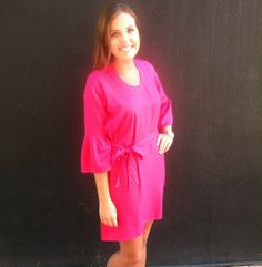 3/4 Slv Charleston Tunic Dress
