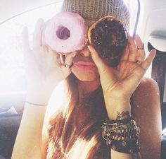 Donut eyes. Food is all I see                              …