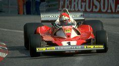 Lauda at Monaco 1976