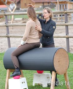 sitzschulung-marlies-fischer-zillinger Horse Training, Brave, Coaching, Pony, Horses, Exercises, Chicken, Fit, Island Horse