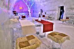 The Ice Hotel in Romania. A must see!