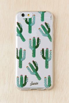 Clear Cactus iPhone 6 Case - Urban Outfitters