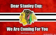 Yes we are! Let's go Hawks!