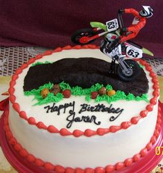 mx+birthday+cake+pictures | Motocross Birthday — Birthday Cakes