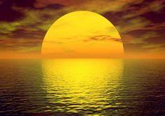 golden glow of the sun