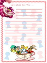 Alice In Wonderland Characters Sprite Stitch Board