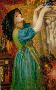 Marigolds - Dante Gabriel Rossetti  1874