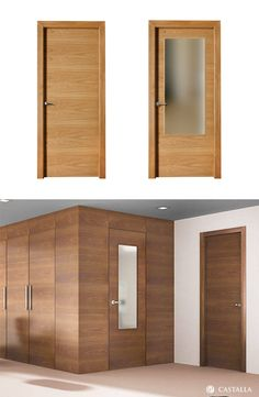 Puerta de interior oscura modelo ganges de la serie for Puertas batientes interior