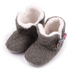 72.99$  Watch here - http://aliifr.worldwells.pw/go.php?t=32782728271 - Child Warm Shoes First Walkers Baby Snow Boots Toddler Shoes Cotton Slippers New Winter Slippers Female Baby Warm Shoes SMC207