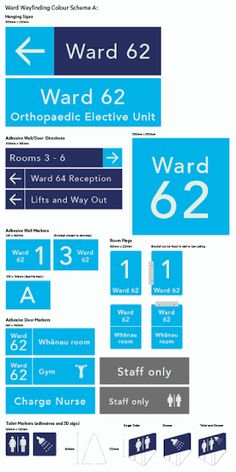 Image result for hospital signage system