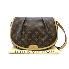 Louis Vuitton Menilmontant PM Monogram Shoulder bags Brown Canvas M40474