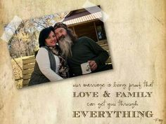 Kay and Phil of Duck dynasty Robertson Family, Phil Robertson, Dynasty Tv, Duck Dynasty, Phil Kay, Miss Kays, Duck Commander, True Love Stories, Family Love
