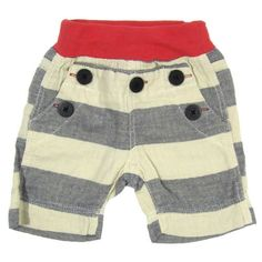 Waist Rib Stripe Shorts - - Departments - BIT'Z KIDS :: Japanese Children's Clothing Store in NYC