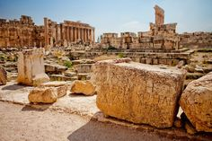 30 of the World's Most Impressive Ancient Ruins : Baalbek (Beqaa Governorate, Lebanon)   Home to some of Lebanon's best-preserved Roman ruins, Baalbek can be found in the Beqaa Valley. The city was known as Heliopolis during the Roman period.