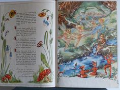 My favourite childhood book. Many fond memories of my dear Nanna reading this to me. It was our special book :) Fairy Glen, Mary Engelbreit, Faeries, Bedtime, Landing, Folk, Childhood, My Favorite Things, Day