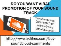 Give a dynamic change in track #popularity after collecting huge number of #real #comment below track. One of the easy ways to enhance real comments is #buy #SoundCloud #comments service, after applying this service you will see an instant change in comment's courts. Once track have plenty comments, posted track will go up.