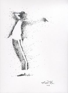 Buy M J, Ink drawing by Maurizio Puglisi on Artfinder. Discover thousands of other original paintings, prints, sculptures and photography from independent artists. - M J Ink drawing by Maurizio Puglisi Art Drawings Simple, Stippling Art, Dotted Drawings, Pointalism Art, Ink Art, Drawings, Pen Art Drawings, Ink Drawing, Art
