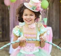 Ella Dynae Ring Mistress Costume on the cover of Carousel Party Magazine! The Diary of Ella Dynae: Life of the party. Circus Birthday, Circus Theme, Circus Party, Party Props, Girl Birthday, Halloween Party, Halloween Costumes, Carousel Party, Girls Tea Party