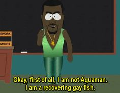 South Park Kanye gay fish