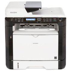 Монохромный лазерный МФУ Ricoh SP 377SFNwX (408156)  — 19507 руб. —  МФУ (принтер, сканер, копир, факс) для небольшого офиса ч/б лазерная печать до 28 стр/мин макс. формат печати A4 (210 x 297 мм) ЖК-панель двусторонняя печать автоподача оригиналов при сканировании Wi-Fi, Ethernet