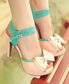 Cute high heels. Want this