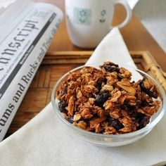 Homemade Granola - There's nothing better than finding the perfect homemade granola recipe!